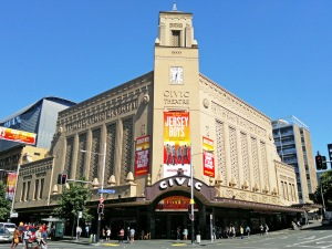 Die Fassade des Civic Theatre © http://upload.wikimedia.org/wikipedia/commons/2/2c/Civic_Theatre_Auckland.jpg