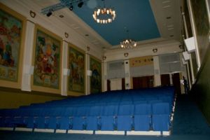 Blick ins Auditorium des Kinosaals © http://digitaltfortalt.no/things/troms-kinomatografteater/H-DF/DF.3649