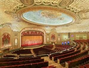 Blick auf die Bühne des Tennessee Theatre © http://www.tennesseetheatre.com/discover/