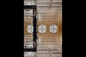 Die prächtige Decke des Theatersaals © http://www.alhambra-geneve.ch/photos