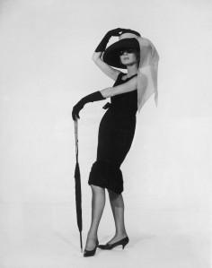 Hepburn im berühmten kleinen Schwarzen in