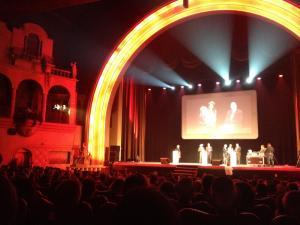 Blick auf die Bühne des Grande Salle © http://www.justacote.com/photos_entreprises/cinema-le-grand-rex-paris-1372974620.jpg