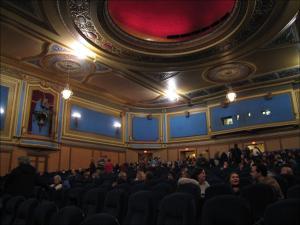 Blick auf den Zuschauerraum und die Deckenverzierungen © BWChicago, https://www.flickr.com/photos/bwchicago/1520428049/