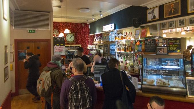 Cameo Bar, Lochrin Place, Edinburgh (interior, bar)