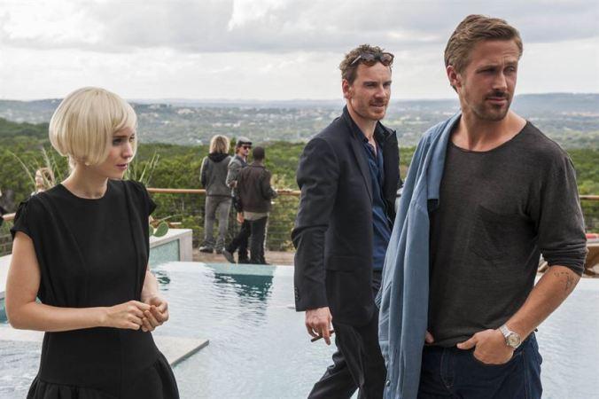 SongToSong_RooneyMara, MichaelFassbender, Ryan Gosling (c) Metropolitan FilmExport
