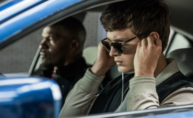 Baby Driver_Jamie Foxx, Ansel Elgort (c) Sony Pictures Releasing GmbH