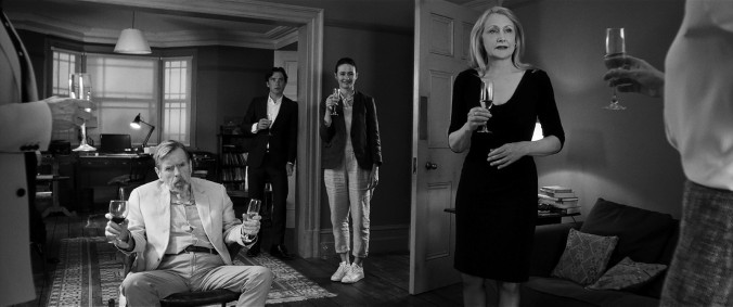 The Party_Timothy Spall, Cillian Murphy, Emily Mortimer, Patricia Clarkson (c) Sally Potter