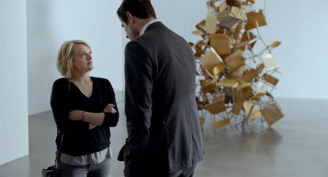 The Square_Elisabeth Moss, Claes Bang (c) Bac Films